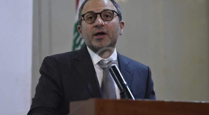 باسيل: لا شيئ سيحد من نشاط التيار وتكتل لبنان القوي في مسيرة محاربة الفساد