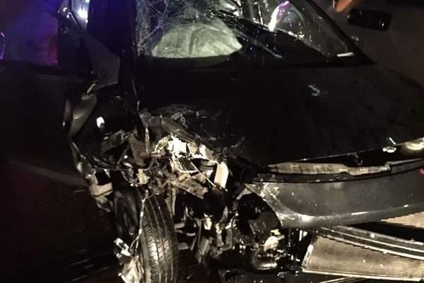 جريح جراء حادث سير على طريق المطار