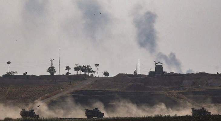 سانا: اشتباكات عنيفة بين الجيش السوري والقوات التركية في تل الورد بريف رأس العين