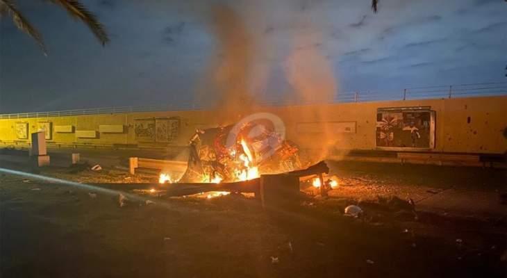 سقوط 3 صواريخ كاتيوشا داخل المنطقة الخضراء في بغداد