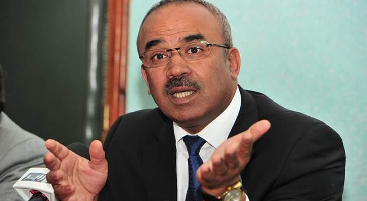 وزير داخلية الجزائر: سنرد بيد من حديد على محاولات زعزعة استقرار البلاد