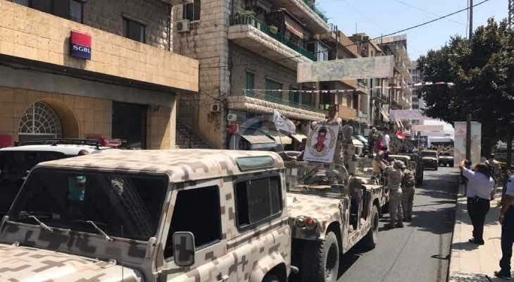 وصول قوة كبيرة من فوجي المجوقل والتدخل الى محيط مرفأ بيروت