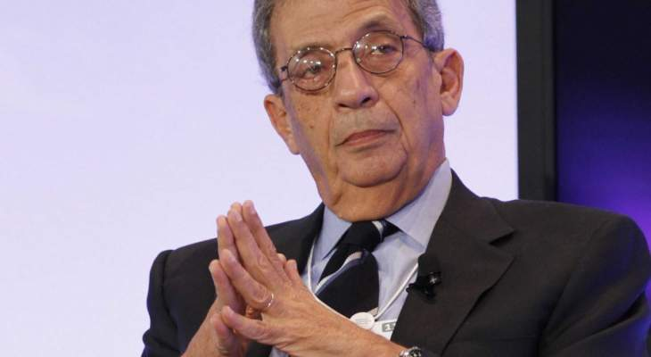 عمرو موسى: عودة سوريا إلى الجامعة العربية باتت قاب قوسين أو أدنى