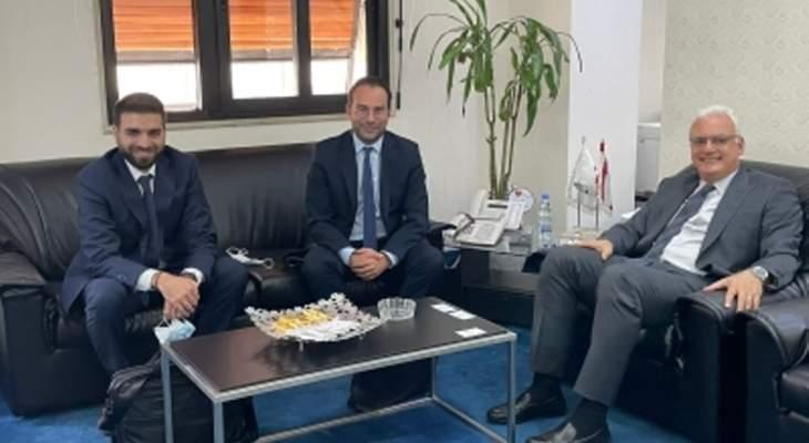 القرم التقى وفدا من البنك الأوروبي لإعادة الإعمار والتنمية ومسؤولين من البنك الدولي