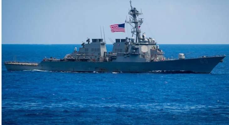البحرية الأميركية أدخلت حاملة طائرات وبارجات حربية عبر مضيق هرمز لدعم التحالف ضد داعش