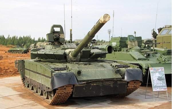 """القوات البرية الروسية تسلمت دفعة جديدة من دبابات """"تي - 80"""" المطورة"""