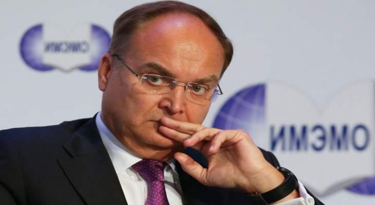 سفير روسيا بواشنطن: سنرد على مواصلة أميركا نشر أسلحة محظورة بآسيا والمحيط الهادئ