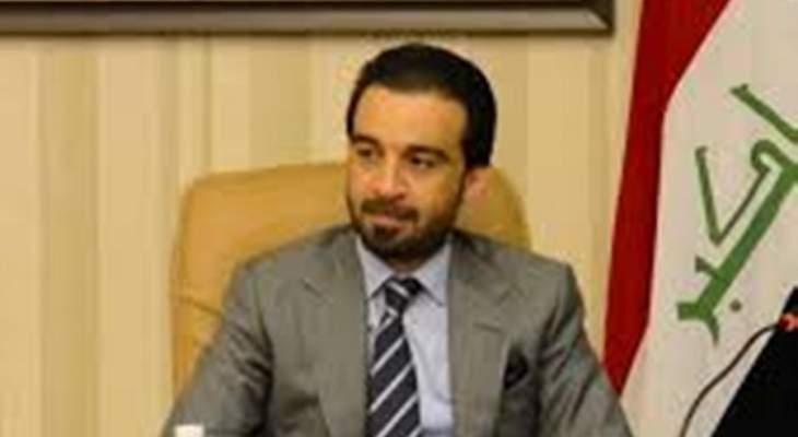 الحلبوسي وبارزاني يؤكدان اهمية استمرار الحوار بين بغداد واربيل
