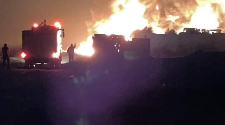 النشرة:ماس كهربائي سبّب الانفجار ببلدة القصر التي تستخدم للتهريب بين لبنان وسوريا