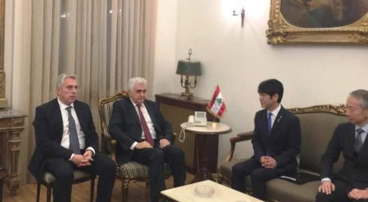 حتي التقى وزير الدولة للعدل الياباني وبحث معه قضية كارلوس غصن