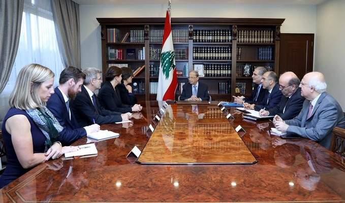 الرئيس عون التقى سفيرتي كندا والنروج والقائم بالأعمال السويسري في لبنان