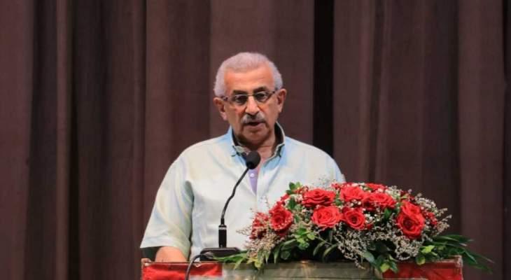 أسامة سعد: الشعب اللبناني سينجح في معركة إنقاذ لبنان كما نجح في إنقاذه من الأعداء