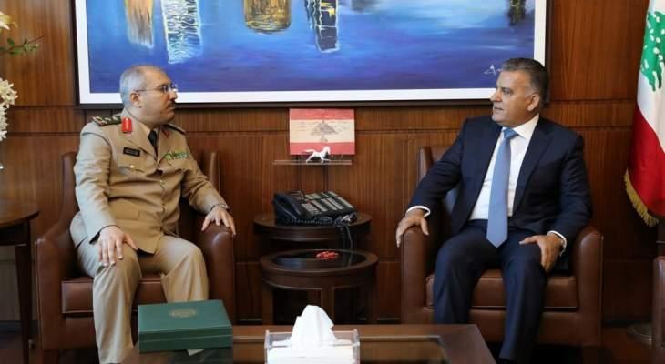 اللواء ابراهيم التقى الملحق العسكري الجديد للسفارة السعودية