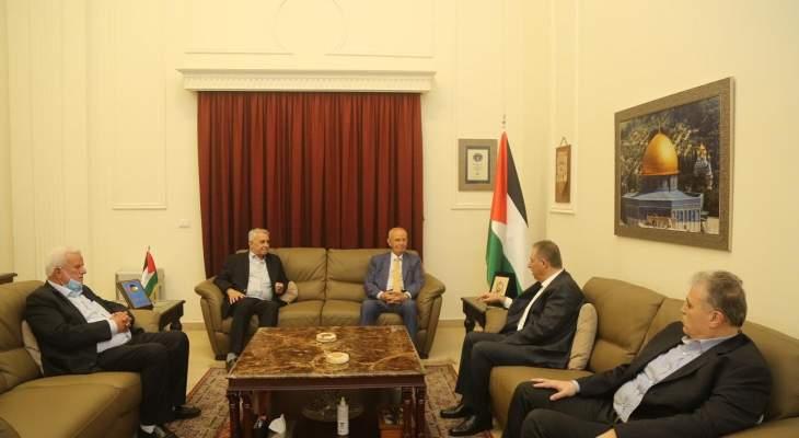 مراد التقى أبو العردات: لإنجاز الوحدة الوطنية الفلسطينية وإنهاء الانقسام