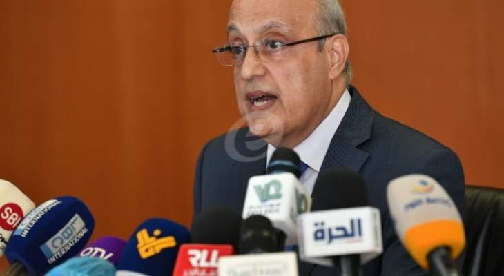 أبو شرف:الامن الصحي في لبنان بخطر لأسباب عديدة