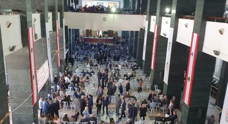 اقفال صناديق الاقتراع لانتخابات نقابة المحامين في بيروت