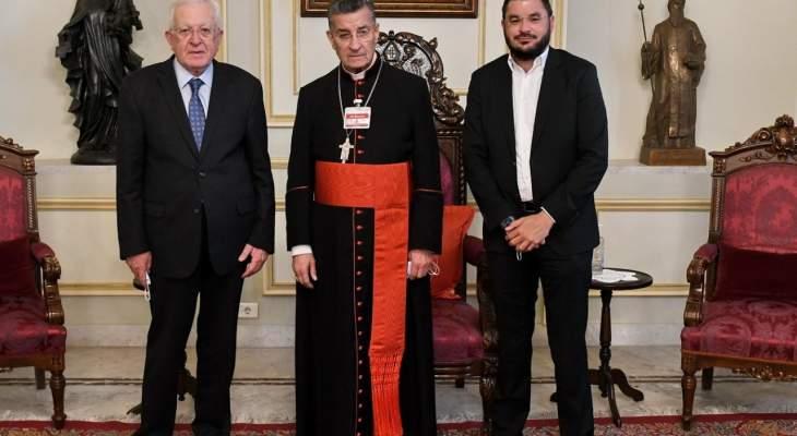 الراعي بحث مع سفير إسبانيا في بيروت الاوضاع الراهنة بلبنان