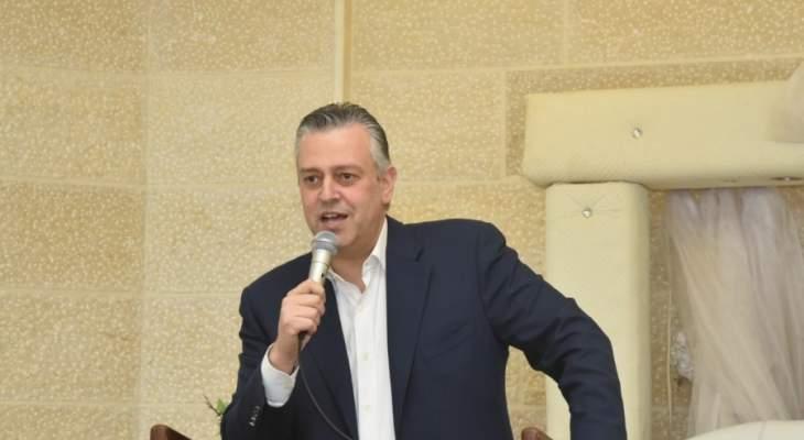 حبيش: اول حق من حقوق المسيحيين اعادة المناصفة لمجلس النواب من خلال انتخابات للمقاعد الشاغرة