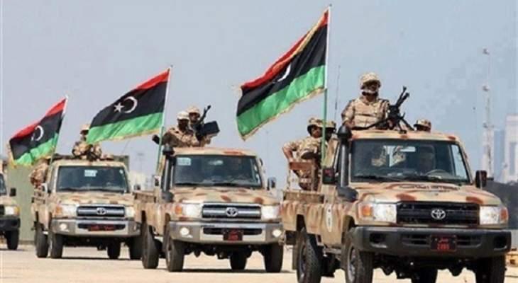 الجيش الليبي يشن هجمات على موقع للإرهابيين في درنة