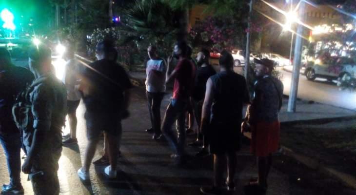 النشرة: الجيش لم يسمح لمحتجين باقفال الاوتستراد الشرقي بصيدا