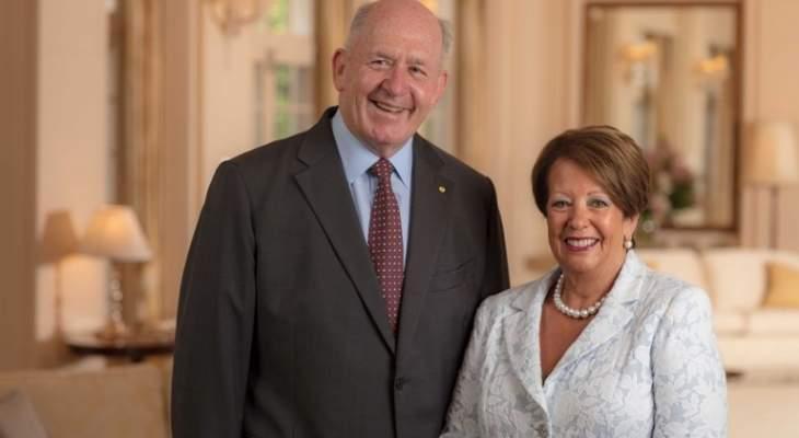 زيارة رسمية لحاكم اوستراليا وقرينته الى لبنان يستهلها بلقاء رئيس الجمهورية