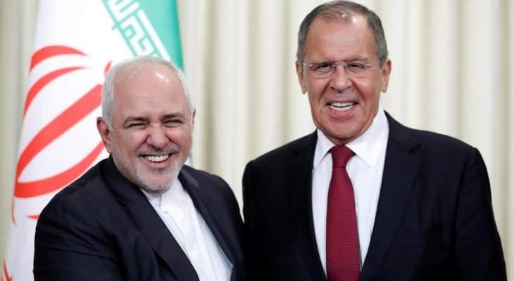 ظريف: التنسيق الذي جرى في موسكو بمجال الاتفاق النووي يخدم السلام والأمن الإقليمي