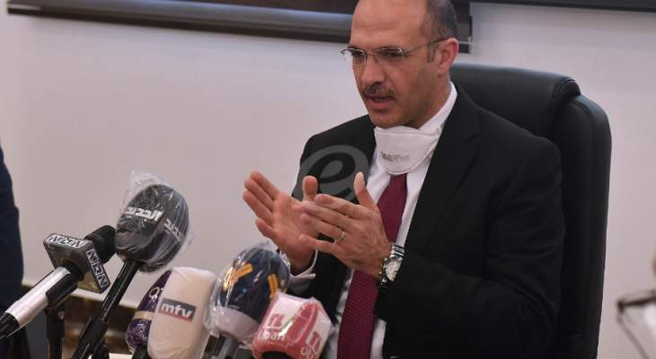 وزير الصحة من برجا: الكمامات إلزامية مع التأكيد على السرعة بالتبليغ عند ظهور أي عوارض