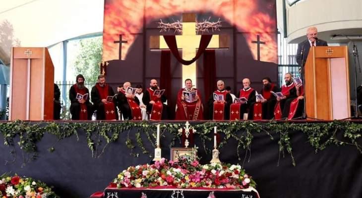 رئيس وزراء أستراليا شارك برتبة دفن المسيح في كنيسة مار شربل- بانشبول: الفصح هو زمن للتأمل والتجدد