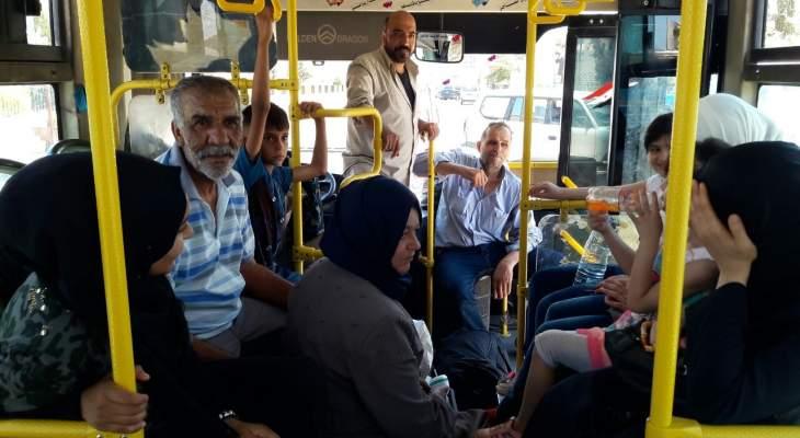 النشرة: وصول عدد من حافلات النازحين إلى سوريا عبر معبر الدبوسية قادمين من لبنان