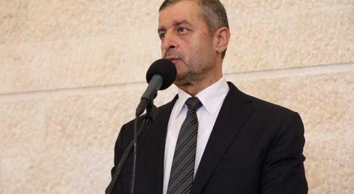 قبيسي: الحكومة غداً ستنال الثقة وتأخير توقيع مرسوم الترسيم لا يمنع لبنان من الحصول على حقوقه