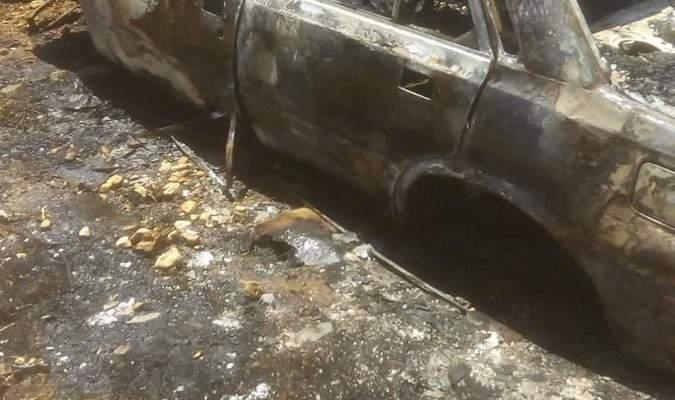 إخماد حريق داخل بؤرة لتجميع كسر السيارات بالكرك و3 حرائق أعشاب ببعبدا والبقاع