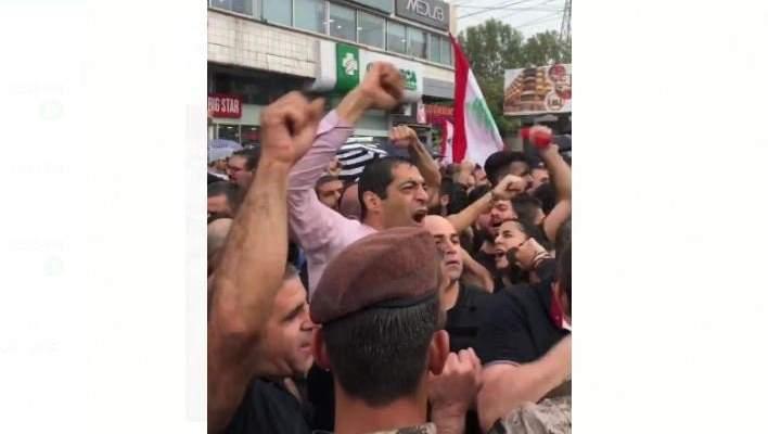 حنكش وافرام انضما إلى المتظاهرين في الزوق والحواط انضم إلى المتظاهرين في جبيل