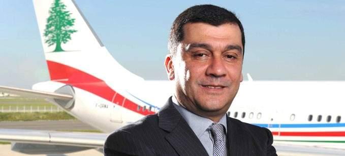 الحوت: شركة طيران الشرق الاوسط ليست ملكا للدولة لا من قريب ولا من بعيد