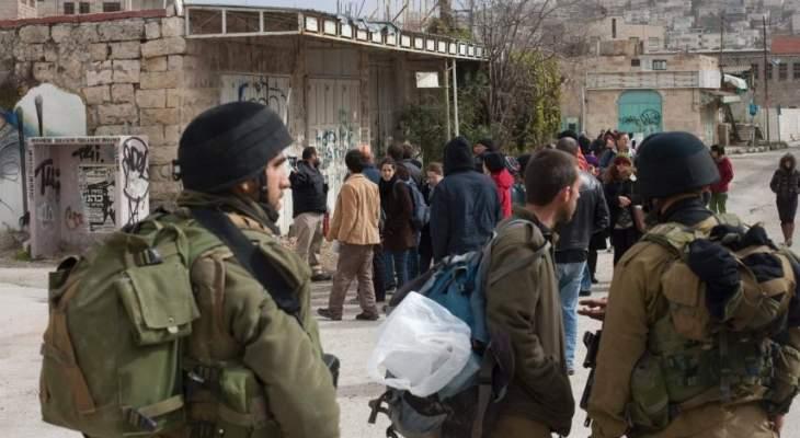 الجيش الاسرائيلي يعتقل 9 فلسطينيين بالضفة الغربية