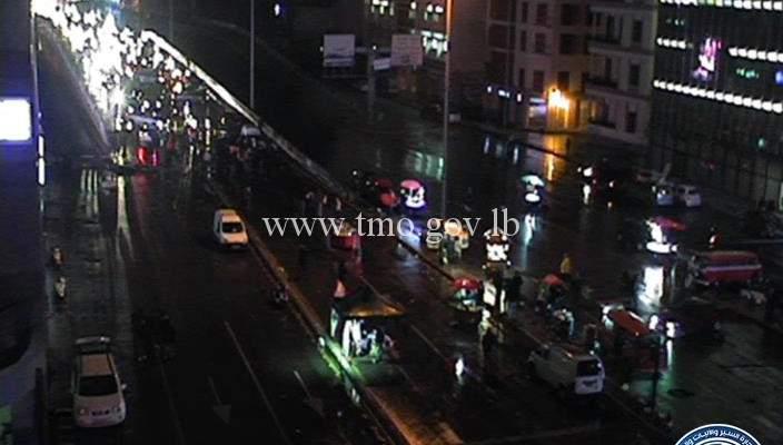 حال الطرقات مساء اليوم في عدد من المناطق اللبنانية