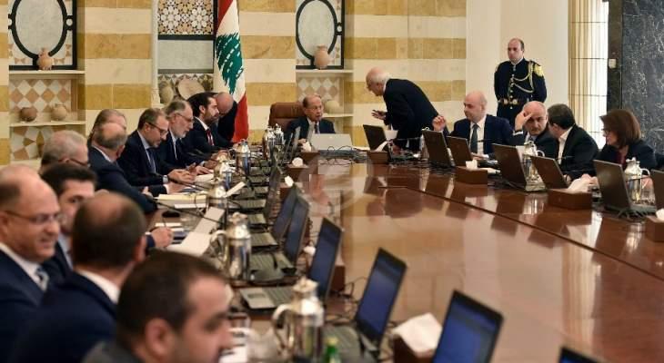 """مصادر لـ """"الشرق الاوسط"""": الحريري سيدعو لالتئام الحكومة خلال أسبوع بالتشاور مع عون"""