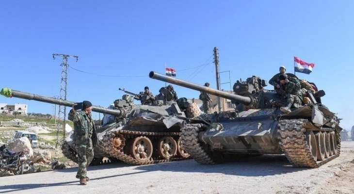 النشرة: الجيش السوري استقدم تعزيزات عسكرية لبلدة كناكر بريف دمشق