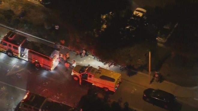 شرطة اميركا: مقتل 13 وإصابة 15 في إطلاق النار بملهى ليلي في كاليفورنيا