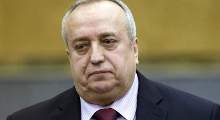 """برلماني روسي: """"داعش"""" أداة بيد أجهزة الاستخبارات الأميركية"""