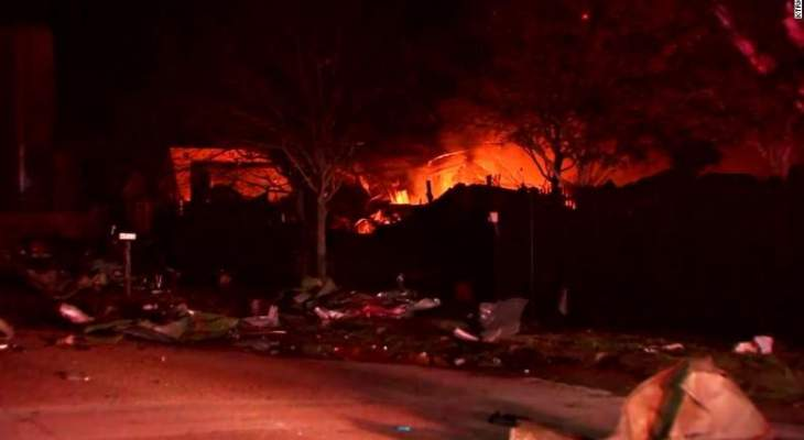 AFP: انفجار كبير في هيوستن في الولايات المتحدة