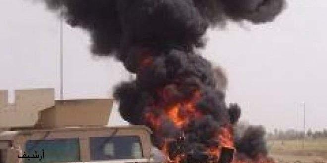 السومرية: انفجار يستهدف رتلاً لدعم قوات التحالف جنوب شرق العراق