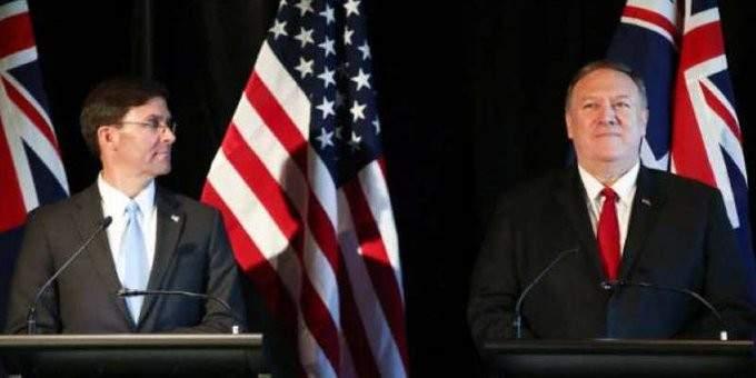 بومبيو وإسبر يزوران الهند الأسبوع المقبل لمواجهة طموحات الصين