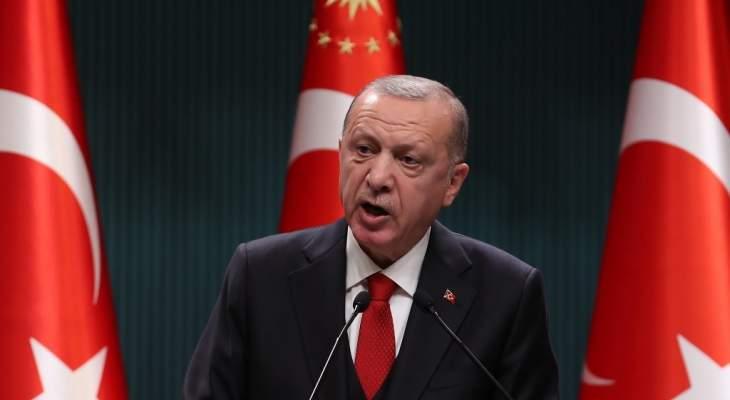 اردوغان: توقيع اتفاق مع روسيا لتأسيس مركز مشترك لمراقبة وقف إطلاق النار في إقليم قره باغ