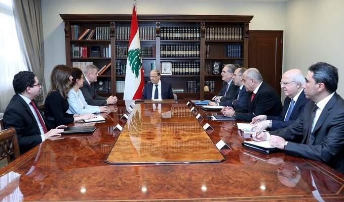 الرئيس عون: اهم معارك الحكومة مكافحة الفساد والاجراءات التي ستتخذ تهدف لحماية الواقع النقدي