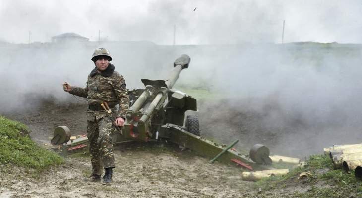 وزارة الدفاع الأرمينية: مقتل جندي أرميني بإطلاق نار عبر الحدود مع إذربيجان