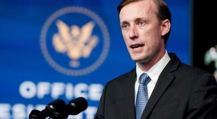مستشار بايدن للأمن القومي يطالب بالإفراج فورا عن المعارض الروسي نافالني