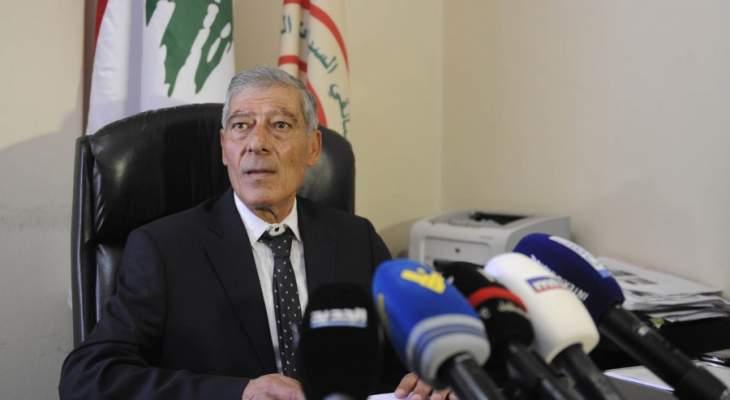 فياض: لم نشارك بمظاهرات اتحاد النقل البري لأننا ضد إقفال المعاينة