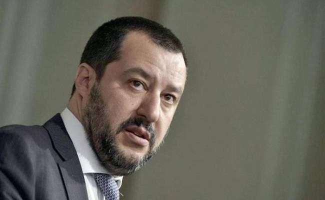 سالفيني بدأ حملته لخوض انتخابات برلمان الاتحاد الأوروبي