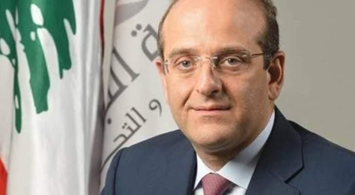 خوري:لادخال شركاء من القطاع الخاص من رجال أعمال ناجحين بالقرار السياسي