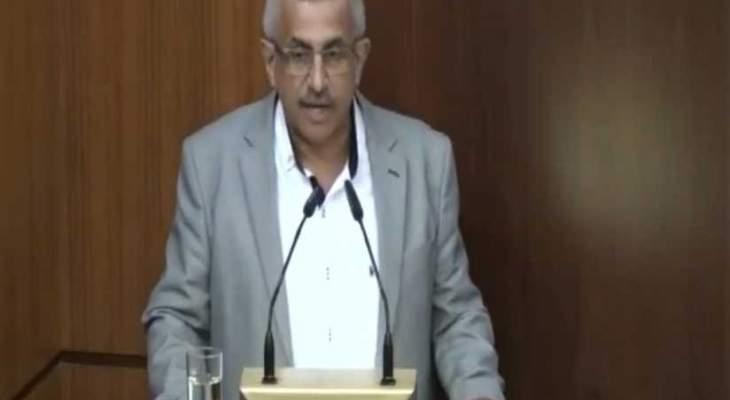 المكتب الإعلامي لأسامة سعد: صوّتضد الموازنة ككل